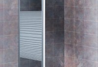 Serie Glass GL-200 ducha (lateral fijo)
